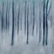 Snow Trees 1 SOLD