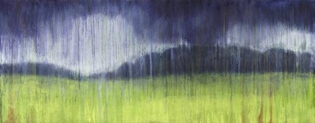 Spring Storm 102 x 40cm £350