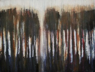 Standing Sentinel 1 27 x 35cm SOLD