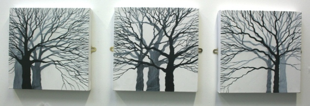 Tree Trio 30 x 30cm £90 each