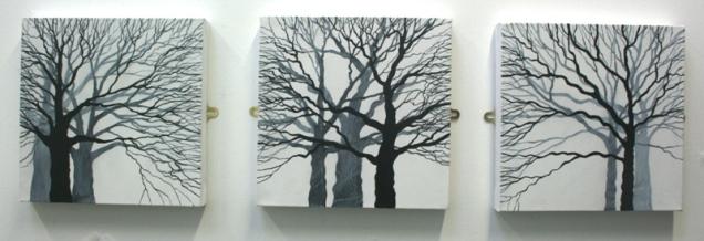 Tree Trio 30 x 30cm £90 each