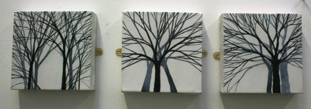 Triptych 15 x 15 £30 each