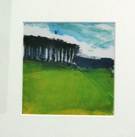 Walks around the Greenway 1 30 x 30cm £100