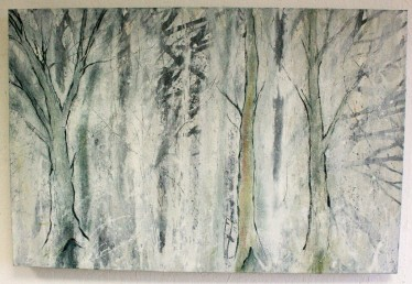 Hitch Wood 2, oil on canvas, 50 x 75cm £400