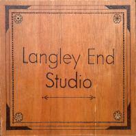 Langley End Studio sign