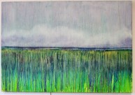 Coastal Reedbeds, oil on canvas, 100 x 70cm, £650