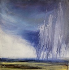 Deluge, Oil paint on canvas, 60x60cm,£300