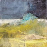 Breathing Spaces 1, Mixed media on canvas, 30x30cm, SOLD