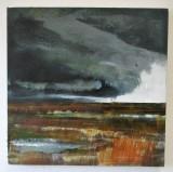 Tidal Marshlands 1 SOLD £280 40 x 40cm