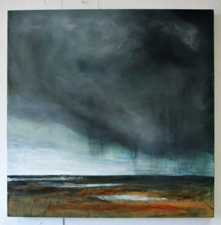 Saltmarsh Recollections 2 SOLD 61 x 61 cm