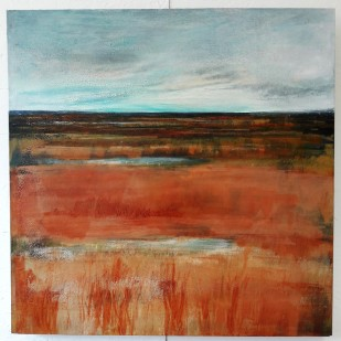 After: Saltmarsh Silence, 61 x 61 cm, £429