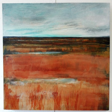 After: Saltmarsh Silence, 61 x 61 cm, £429
