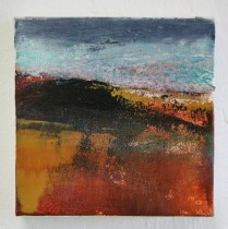 Moorland and Marshlands Series, 1 15 x 15cm, £70