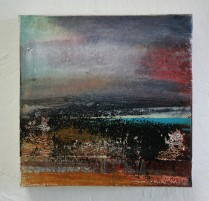 Moorland and Marshlands Series 2, SOLD15 x 15cm, £70