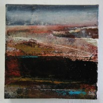 Moorland and Marshlands Series 3, SOLD 15 x 15cm, £70