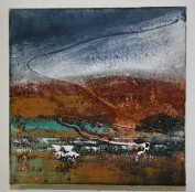 Moorland and Marshlands Series 5 SOLD SOLD, 15 x 15cm, £70