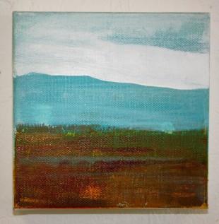 Moorland and Marshlands Series 7, 15 x 15cm, £70