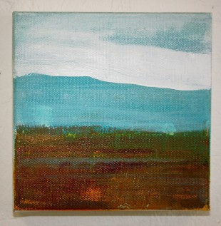 Moorland and Marshlands Series 7, 15 x 15cm, £70