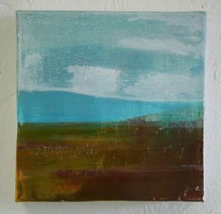 Moorland and Marshlands Series 8, 15 x 15cm, £70