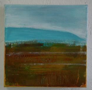 Moorland and Marshlands Series 9, 15 x 15cm, £70