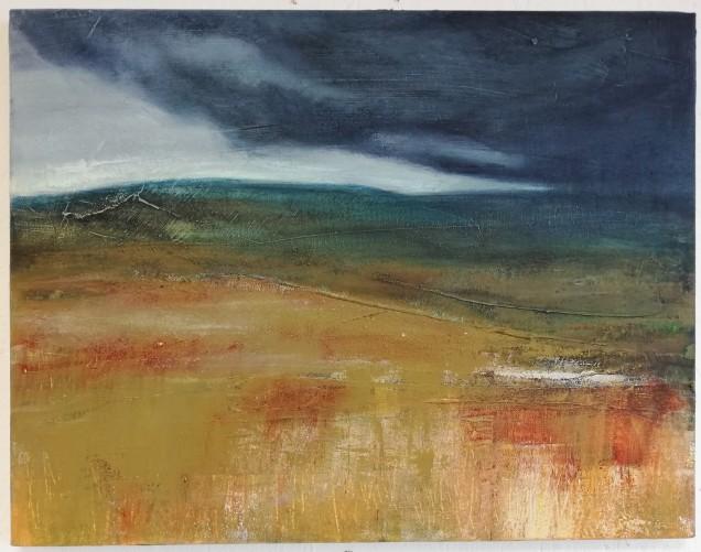 Dark Moor, framed, 3 x 46, £275