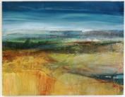 Marsh Moor, framed, 3 x 46, SOLD