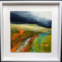 A Brief Hiatus in the Storm, framed, 44 x 44cm SOLD
