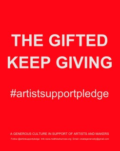 Artists Support Pledge 2