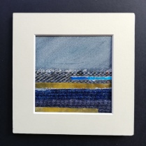 The Weave of the Land 3, SOLD mounted size 15 x 15cm, £25
