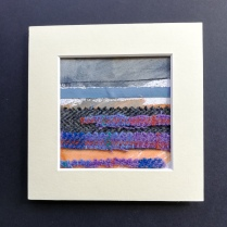 The Weave of the Land 4, SOLD mounted size 15 x 15cm, £25