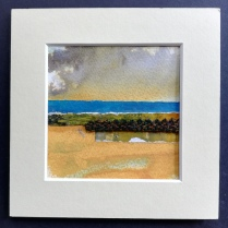 The Weave of the Land 5, SOLD mounted size 15 x 15cm, £25