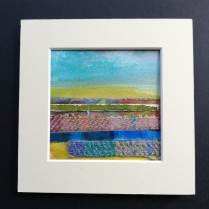 The Weave of the Land 6, SOLD mounted size 15 x 15cm, £25