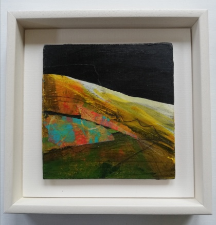 Hiatus 1, framed 23 x 23 cm, £90