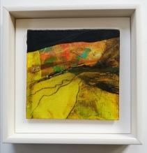 Hiatus 3, framed 23 x 23 cm, £90