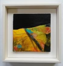 Hiatus 4, framed 23 x 23 cm, £90