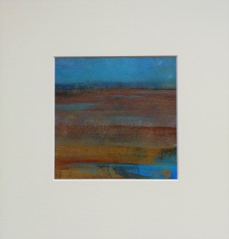 Marsh 4, SOLD mounted size 30x30cm, £45