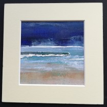 Seastorm 2, mounted size16x16cm, £25